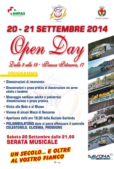 Croce Bianca - Open Day